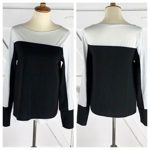 Zara BW Collection Double Layer Long Sleeve